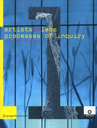 Artists-in-labs processes of inqury Book Cover